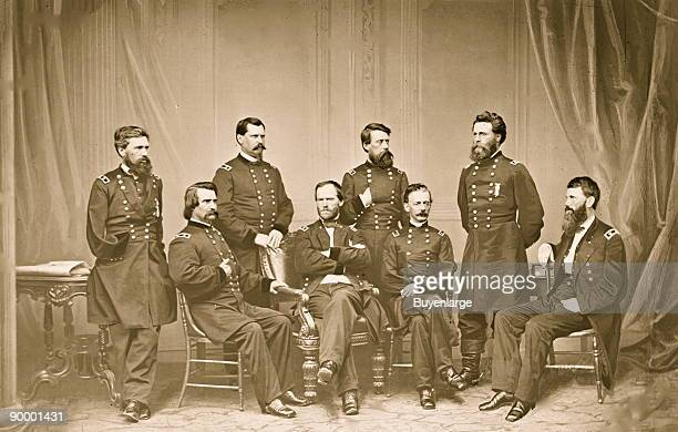 William Tecumseh Sherman His Staff