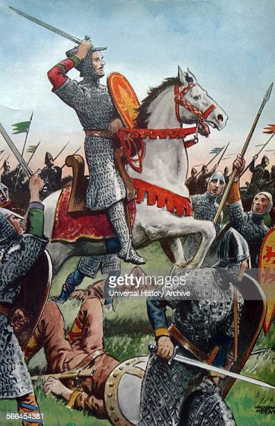 William the Conqueror at the Battle of Hastings 1066
