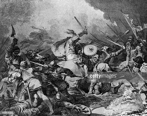 William the Conqueror fighting in battle