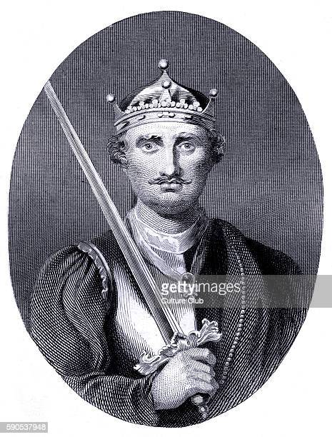 William The Conqueror or William I portrait First Norman King of England reigning from 1066 until his death in 1087 1028 9 September 1087