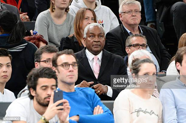 William Tony Parker Senior during the Basketball men's National Cup between Le Mans and Lyon Villeurbanne at AccorHotels Arena on May 1 2016 in Paris...