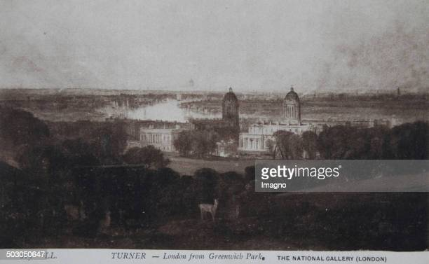 William Turner London from Greenwich Park Paintings National Gallery / London