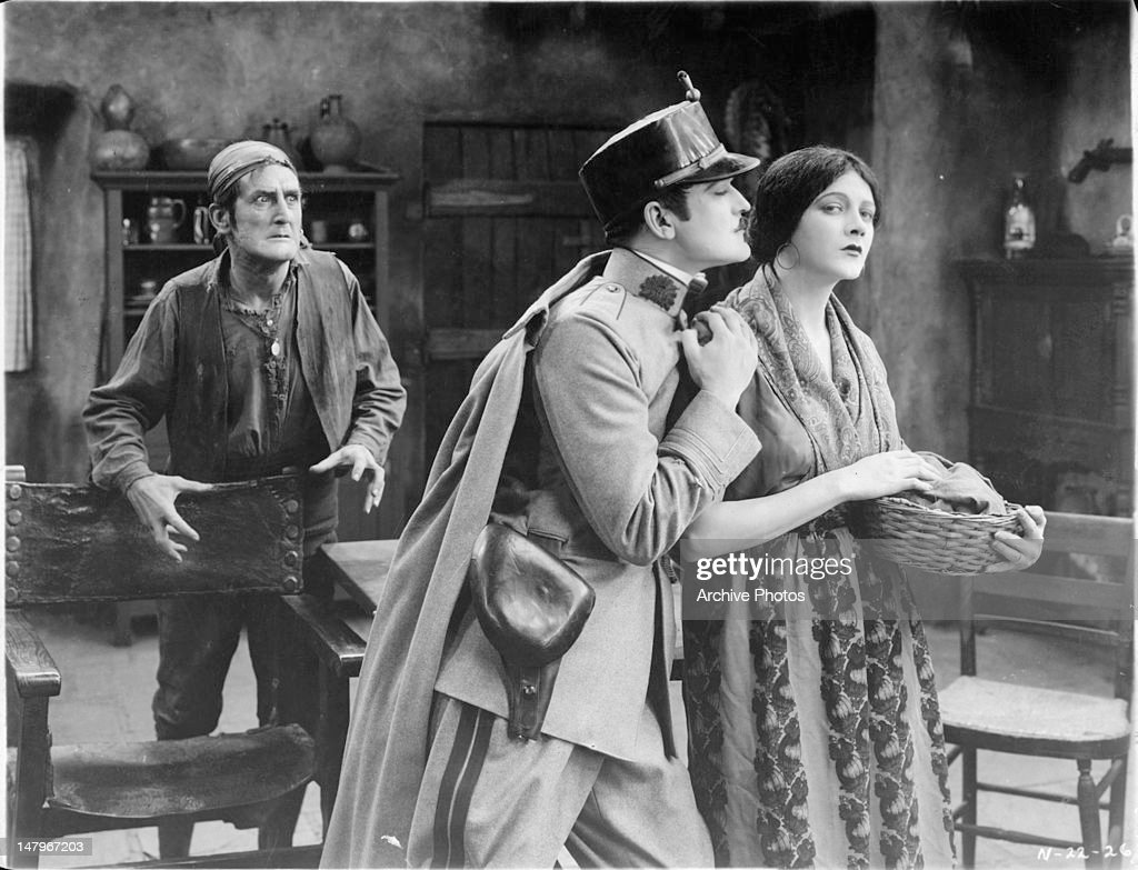 Wallace MacDonald And Barbara La Marr In 'Thy Name Is Woman' : News Photo