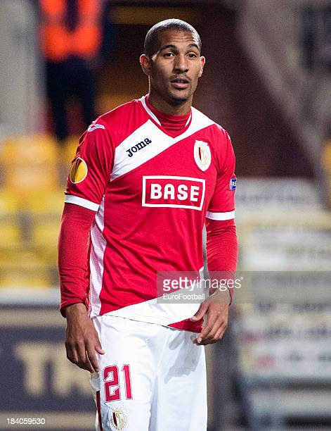 William Vainqueur of R Standard de Liege in action during the UEFA Europa League group stage match between IF Elfsborg and R Standard de Liege held...