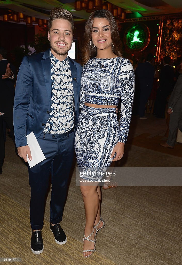 William Valdes and Clarissa Molina attends the 9th Annual International Dermatology 'It's All About the Kids' Benefit at JW Marriott Marquis on October 1, 2016 in Miami, Florida.