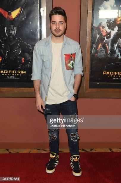 William Valdes arrives at the Universal Pictures hosts a Los Angeles Special Screening of Pacific Rim Uprising on Monday March 19 with special guests...