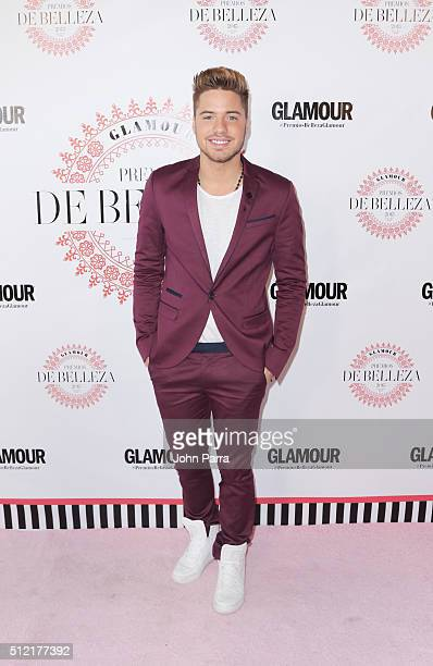 William Valdez attends the Glamour Beauty Awards Latin America 2016 at Palmeira Beach Club on February 24 2016 in Miami Florida