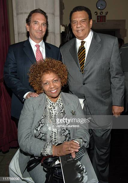 William Wachtel Ambassador Andrew Young and Cissy Houston
