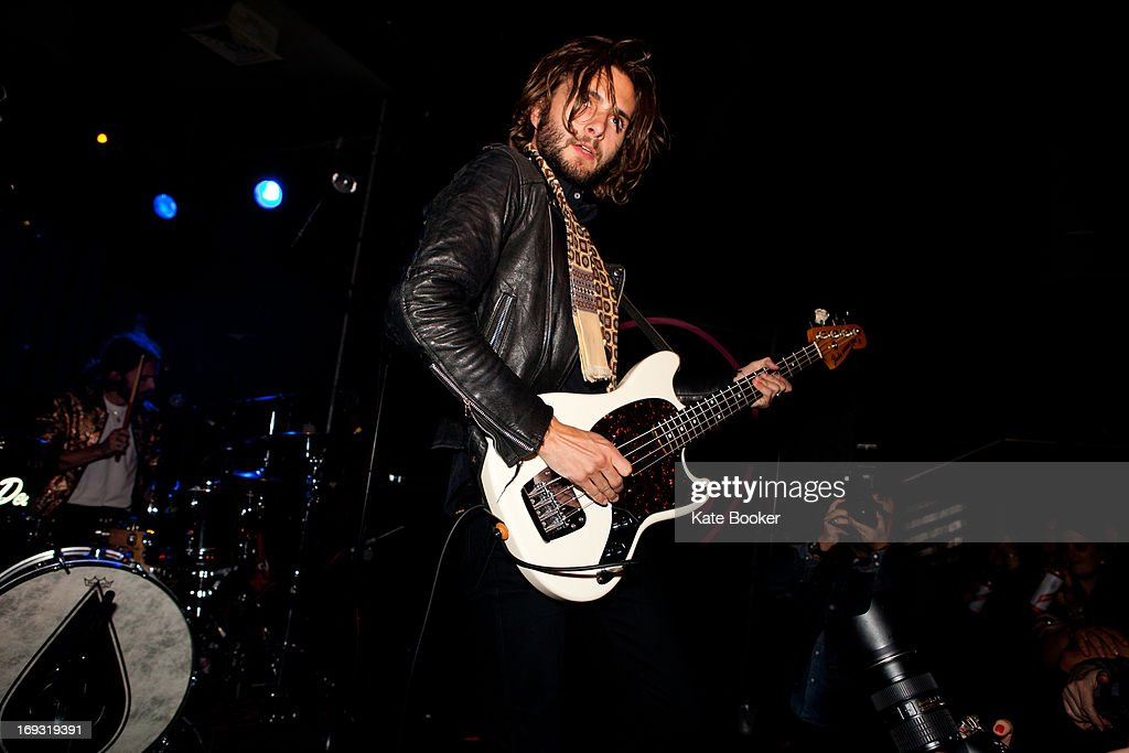 William Walter of The Family Rain supporting Deap Valley performs on stage at Scala on May 22, 2013 in London, England.