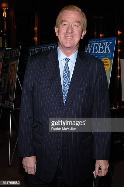 William Weld attends THE WEEK at Grand Central a series of conversations Can America's Public Schools be Saved at Michael Jordan's Steakhouse on...