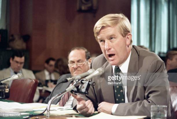 William Weld one of two former Justice Department officials who resigned their positions in March publicly explained for the first time they quit...