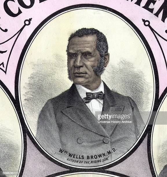 William Wells Brown was a prominent African-American abolitionist lecturer, novelist, playwright, and historian.