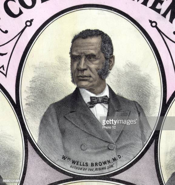 William Wells Brown was a prominent AfricanAmerican abolitionist lecturer novelist playwright and historian