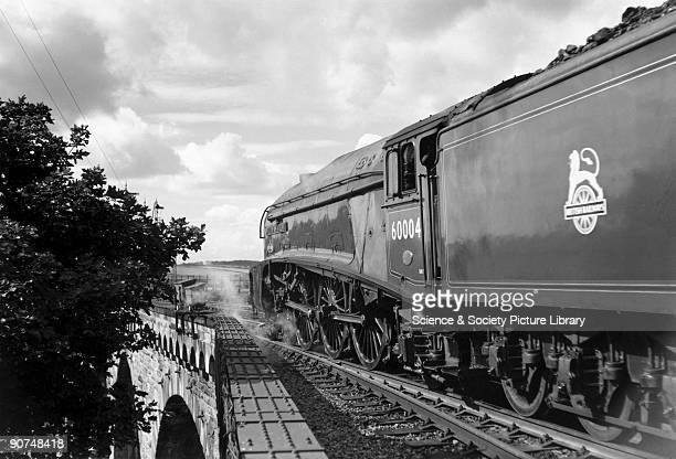 William Whitelaw A4 Class steam locomotive leaving Berwick for London Photograph by Bishop Eric Treacy Treacy was often allowed special access to...