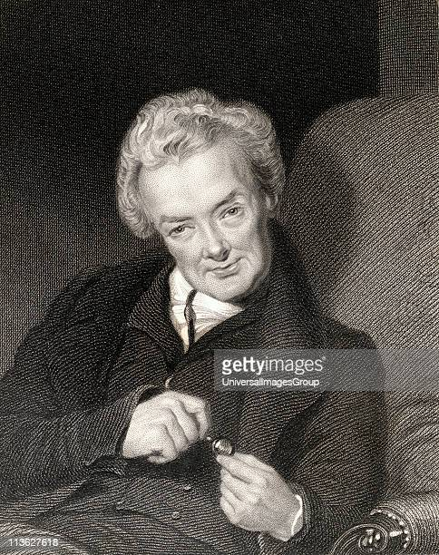 William Wilberforce 1759-1833. British politician and philanthropist. From the book 'Gallery of Portraits' published London 1833