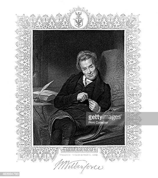 William Wilberforce, , 19th Century. English parliamentarian and leader of the campaign against the slave trade.