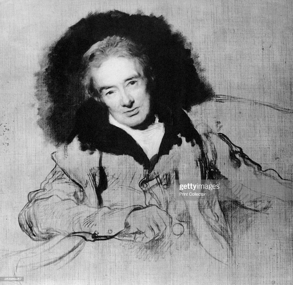 William Wilberforce, English anti-slavery campaigner, 1828 (1965). : News Photo