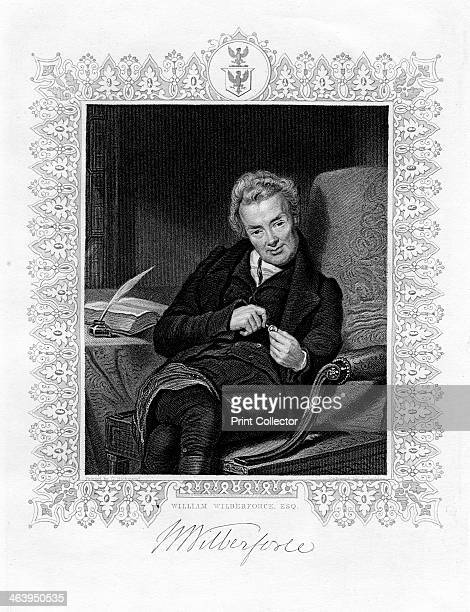 William Wilberforce, English parliamentarian and abolitionist, 19th century. Wilberforce was the leader of the campaign against the slave trade.