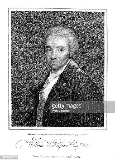 William Wilberforce, English philanthropist and anti-slavery campaigner, 1814. Entering Parliament in 1780, Wilberforce campaigned tirelessly for the...