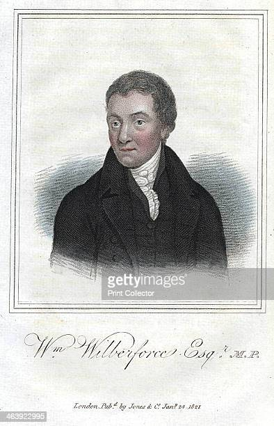 William Wilberforce, English philanthropist, evangelical Christian and anti-slavery campaigner, 1821. Entering Parliament in 1780, Wilberforce...