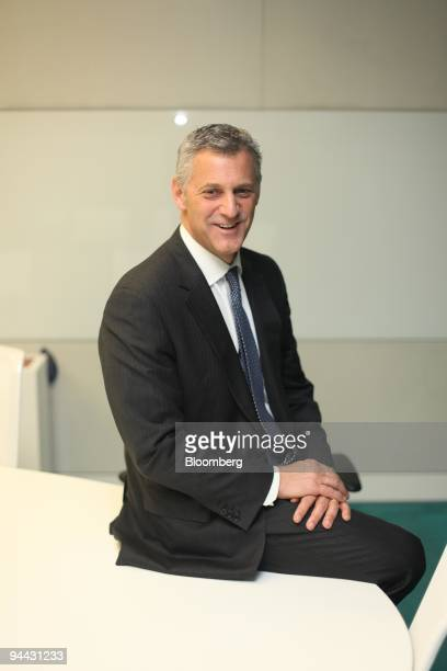 William Winters the former cochief executive officer of JPMorgan Chase Co�s investment bank poses for a photograph ahead of a television interview in...