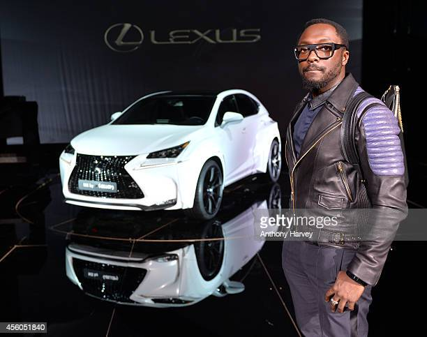 william with his bespoke NX which he designed in collaboration with Lexus and launched at an exclusive event during Paris Fashion Week on September...