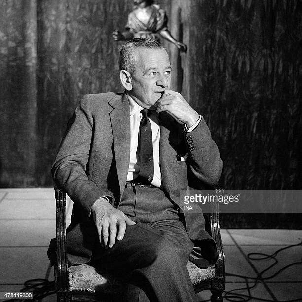 William Wyler during an interview for Reflections of Cannes
