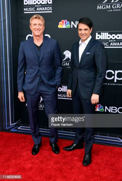 William Zabka and Ralph Macchio attend the 2019 Billboard Music Awards at MGM Grand Garden Arena on May 01, 2019 in Las Vegas, Nevada.