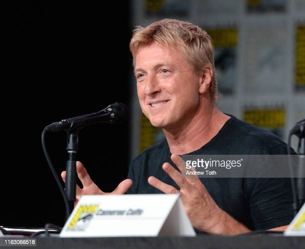 """William Zabka attends Entertainment Weekly's """"Brave Warriors"""" Panel at San Diego Comic-Con 2019 at San Diego Convention Center on July 19, 2019 in..."""