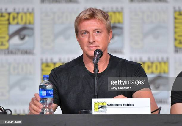 William Zabka speaks onstage during Entertainment Weekly: Brave Warriors at San Diego Convention Center on July 19, 2019 in San Diego, California.