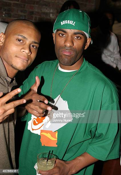 Williams and DJ Clue during Lil' X Birthday Party - June 15, 2005 at Ruby Falls in New York City, New York, United States.