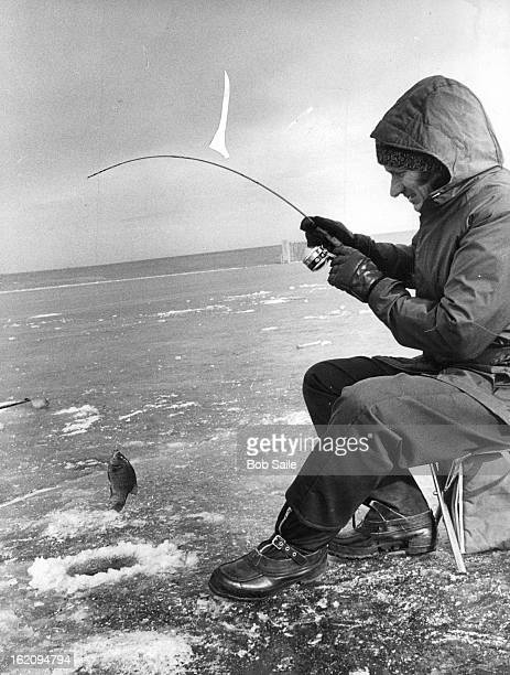 JAN 17 1978 JAN 19 1978 Williams Cranks Up A Chunky Bluegill Warmwater species hang around weeds snags of Chatfield