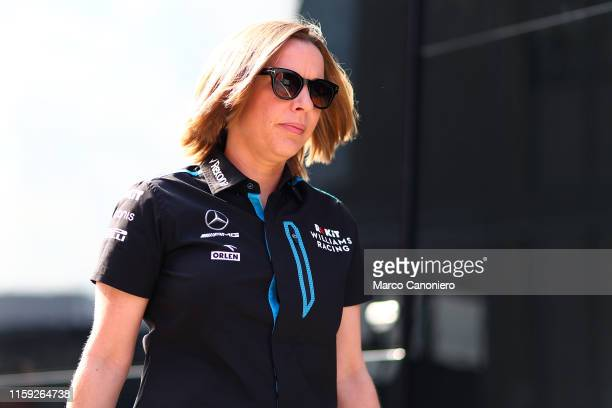 HUNGARORING BUDAPEST HUNGARY Williams Deputy Team Principal Claire Williams in the paddock during the F1 Grand Prix of Hungary