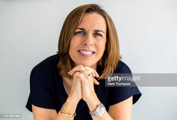 Williams Deputy Team Principal Claire Williams poses for a portrait during previews ahead of the F1 Grand Prix of Monaco at Circuit de Monaco on May...