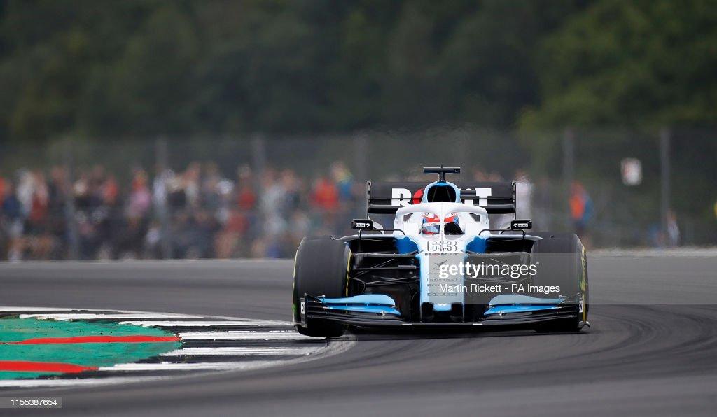 British Grand Prix 2019 - Third Practice - Silverstone : News Photo