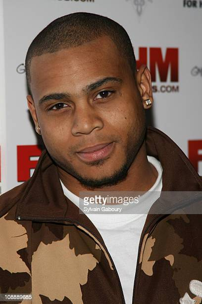 Williams during FHM Party for the NFL Players Draft at Gypsy Tea in New York, NY, United States.