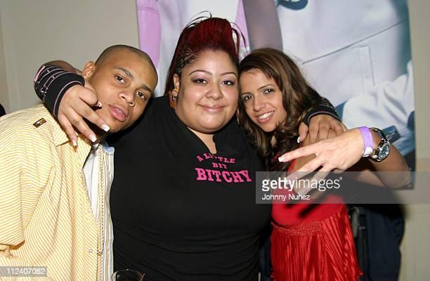Williams, El Murda Mami and Vida Guerra during El Murda Mami's Birthday Party - December 20, 2004 at Newark Hilton Hotel in Newark, New Jersey,...