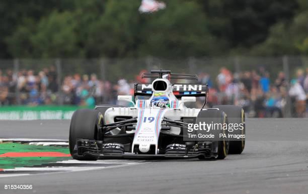 Williams' Felipe Massa during the 2017 British Grand Prix at Silverstone Circuit Towcester