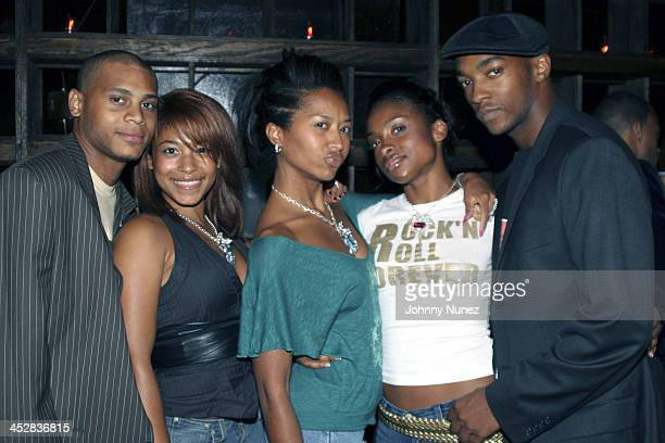 Williams, Hearsay and Anthony Mackie during Baby Phat After Party V.I.P. Room - September 11, 2005 at Guest House in New York, New York, United...
