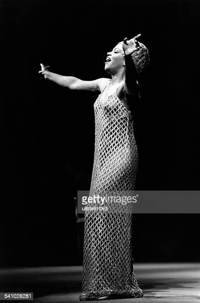 Williams JanetSaengerin Opernsaengerin USAals Cleopatra in der Oper 'Cleopatra e Cesare' von Carl Heinrich Graun Staatsoper Berlin Premiere