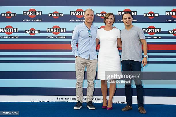 Williams Martini Racing F1 driver Valtteri Bottas Williams Martini Racing Deputy Team Principal Claire Williams and Williams Martini Racing F1 driver...