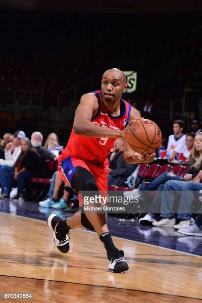 Williams of the Agua Caliente Clippers passes the ball against the Northern Arizona Suns on November 4 2017 at Prescott Valley Event Center in...