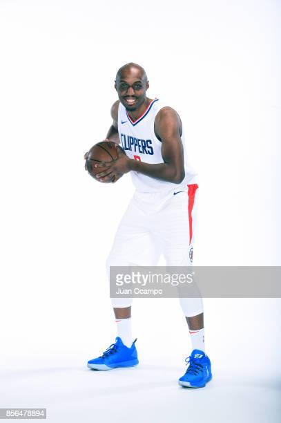J Williams of the Los Angeles Clippers poses for a portrait during the 201718 NBA Media Day at the Los Angeles Clippers Training Center on September...