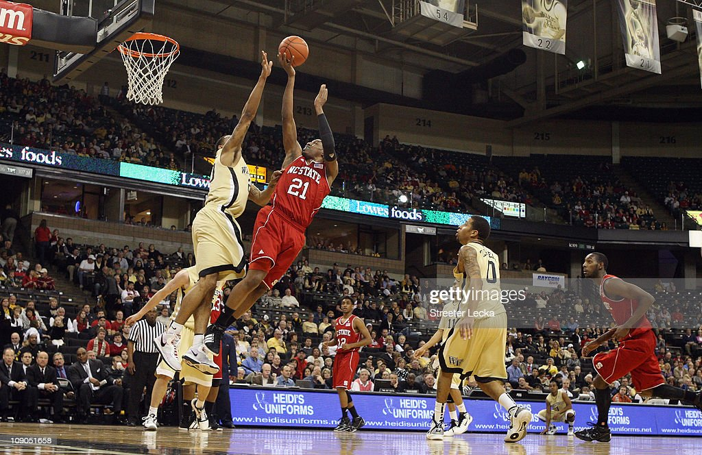North Carolina State v Wake Forest : News Photo