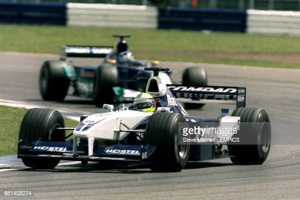 Williams' Ralf Schumacher leads Sauber's Kimi Raikkonen
