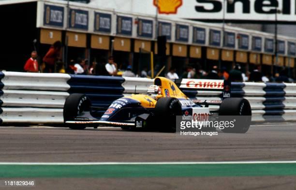 Williams Renault FW14B Nigel Mansell 1992 British Grand Prix Silverstone Creator Unknown