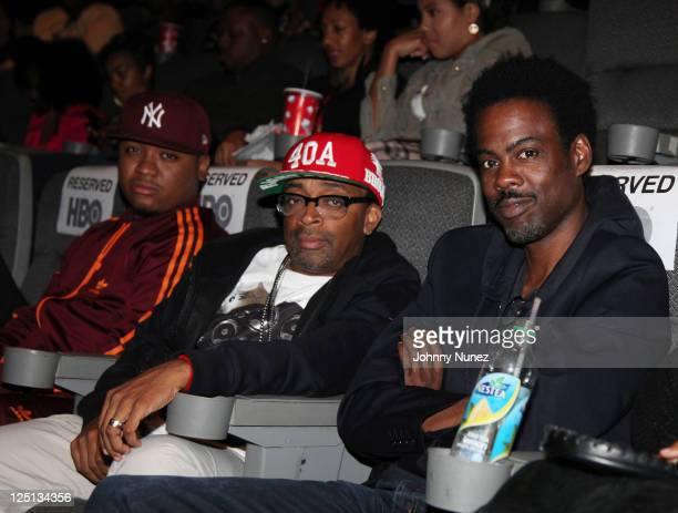 Williams, Spike Lee an Chris Rock attend the 15th Annual Urbanworld Film Festival at AMC Loews 34th Street 14 theater on September 15, 2011 in New...