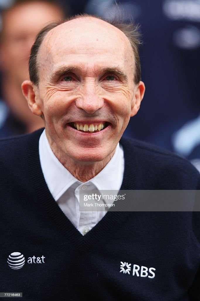 Williams Team Principal Sir Frank Williams is seen before the Chinese Formula One Grand Prix at the Shanghai International Circuit on October 7, 2007 in Shanghai, China.