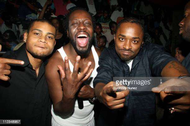 Williams, Wyclef Jean and Doitall during Melky Jean's Birthday Party - June 13, 2006 at PM in New York City, New York, United States.