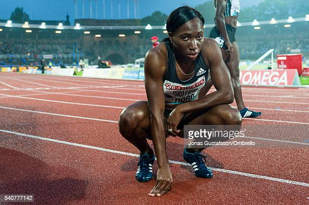 WilliamsMills Novlene competes 400m women during the IAAF Diamond League meeting on Stockholm stadion on June 16 2016 in Stockholm Sweden